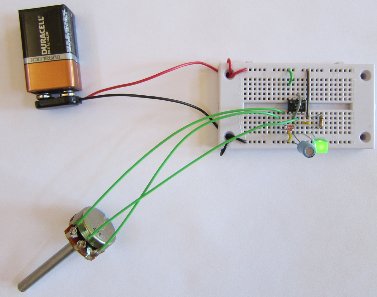 Led Dimmer Circuit With Potentiometer Photos Of